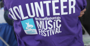 McDowell Mountain Music Festival Volunteer